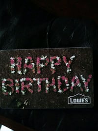 **LOWES Gift Card**