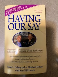 Having Our Say by the Delaine sisters