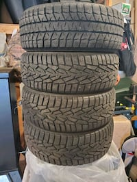 20560r16 Winter Tires 3 Nokian and 1 Blizzak
