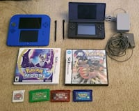 Nintendo DS lite and 2DS Pokemon Lot Alexandria, 22304
