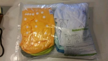 BRAND NEW CLOTH DIAPERS