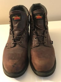 Sz 15 steel toe work boots Cincinnati, 45255