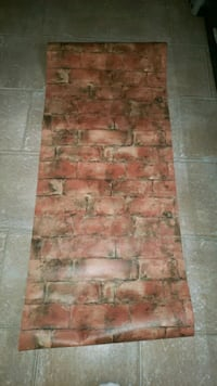 Brick pattern wallpaper 6 rolls