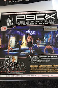 P90x fitness dvd set new