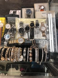 100$ & UP!! NECKLACES / CHAINS / RINGS / BRACELETS / EARRINGS / WATCHES / GREAT PRICE!! GOOD CONDITION!!  Baltimore, 21217