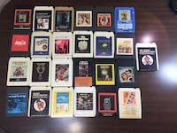 8 Track Tape Soundtrack Collection Lot of 25 Eight Track Carts / Tapes Denver, 80227