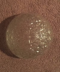 Round clear cut glass bowl Glenarden, 20774