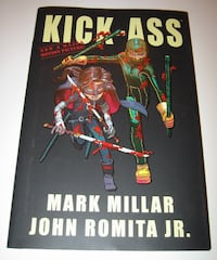 Kick-Ass Graphic Novel (Hardcover) Burlington