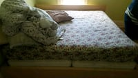 Trade King Ikea Bed Frame/Mattress For Single/Twin Edmonton, T5G 1B9
