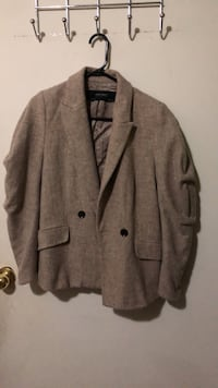 gray button-up coat Toronto, M3H 1R6