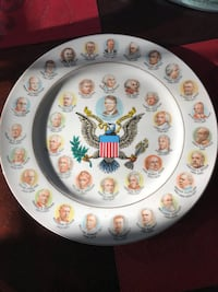 200 Years of American Presidents Collectible Plate Nottingham, 21236