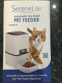 SereneLife Automatic Dry Food PET FEEDER Vaughan, L4L 3L6