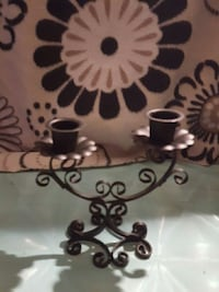 Small ornate metal candle holder St. Thomas, N5P 1C2
