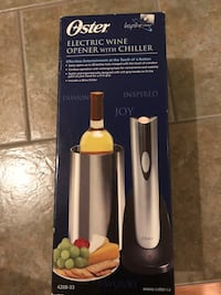 Oster electric wine opener with chiller box Toronto, M4W 1S9