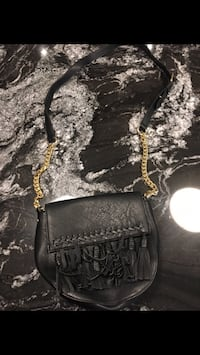 black leather Michael Kors crossbody bag Montréal, H1E 4R1