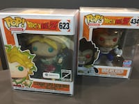 "6"" DBz pop (Legendary Super Sayian Broly , Great Ape Vegeta) Toronto, M1S 2B4"