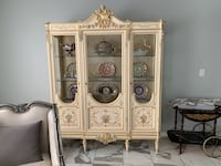 Italian dining room china hutch cabinet display  Italy Check my items