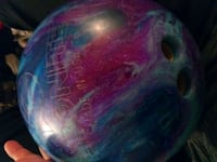 purple and blue bowling ball Albuquerque, 87110