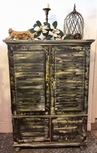 brown wooden 3-drawer chest Oklahoma City, 73012