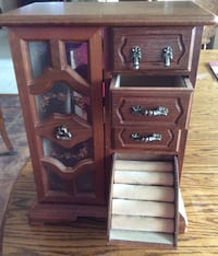 Jewelry box wooden cabinet with drawers Bealeton, 22712