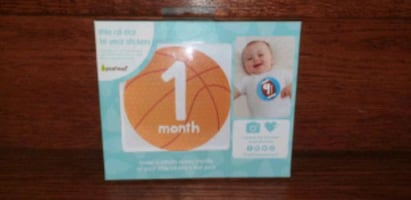NEW Little All Star Baby's First Year Stickers