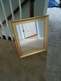 Gold framed mirror Plymouth, 48170