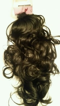 1 piece Half moon hair extensions