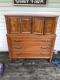 Solid wood dresser/armoir Montgomery, 12549