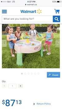Kids water table brand new in box Barrie
