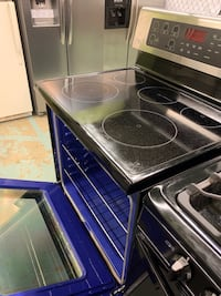 black and gray induction range oven Capitol Heights, 20743