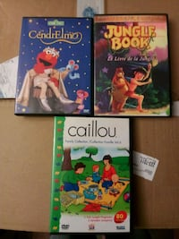 3 Children's  DVDs Saugus, 01906