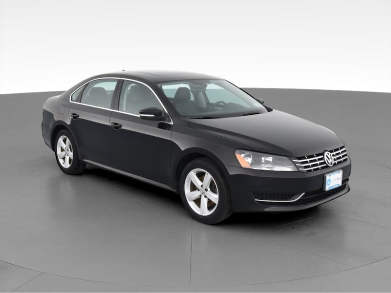 2013 VW Volkswagen Passat sedan TDI SE Sedan 4D Black  14