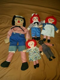 Raggedy Ann I love you vintage dolls.. Coram, 11727