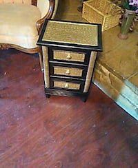 Small bamboo stand/ 3 drawers  North Highlands, 95660