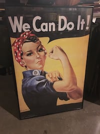 We Can Do It! vintage style poster Norwich, 06360