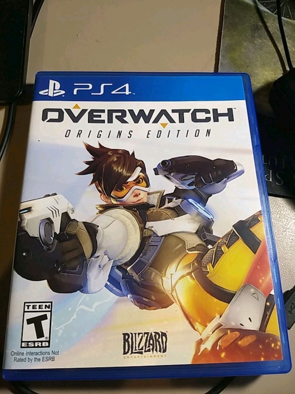 PS4 Overwatch game (used) b71fce47-5d9e-451e-bc05-85bddae1aaf9