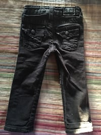CUTE Black TRUE RELIGION JEANS  Size 3T