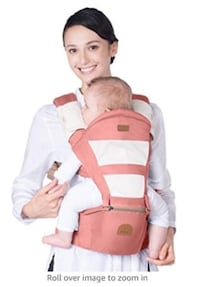 baby's white and orange carrier Burnaby, V5H 2A1