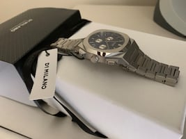 D1 Milano watch CHRONOGRAPH 41.5 MM IONIC BLUE