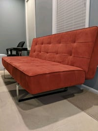 red and black tufted sofa Fairfax, 22030