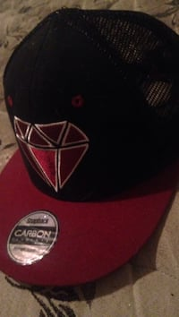 Black and red fitted cap Williamsport, 21795