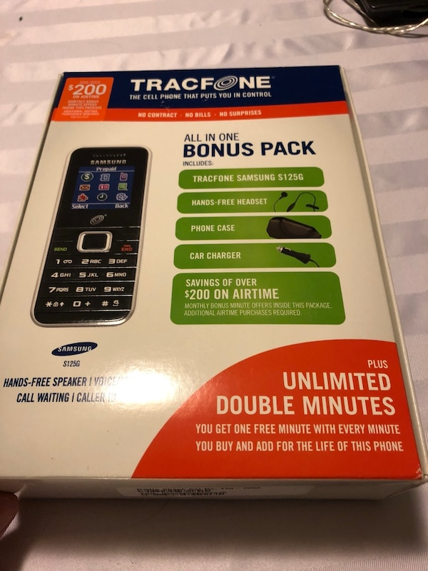 Samsung s125g tracfone cellphone