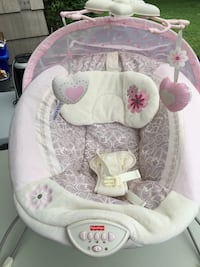 Fisher price my little sweetie deluxe bouncer seat - pink