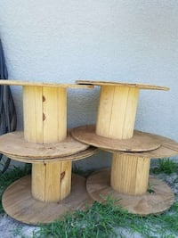 Small commercial Electrical Wire Wooden Spools Lehigh Acres, 33974