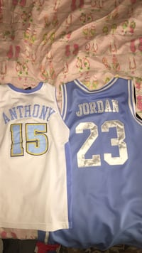 Denver nuggets jersey and North carolina jersey Georgetown, 40324