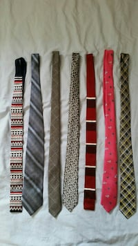 assorted-color-and-pattern neckties Ottawa, K1V 6G4