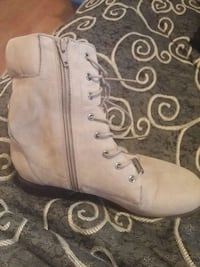 boots Beige Aldo ankle boots Port Coquitlam, V3B 4P2