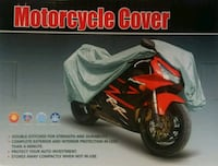 "NEW IN BOX - motorcycle cover Size LARGE 91"" x  39 Edmonton, T6X 1J9"