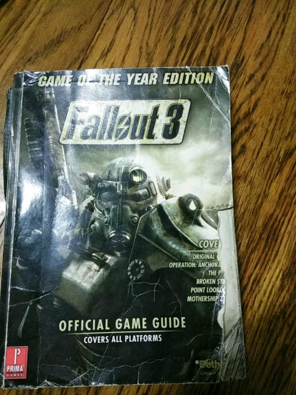 6912cd1a9756f0 Used Fallout 3 strategy guide for sale in Norfolk - letgo