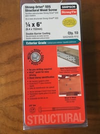 Simpson Strong Tie  structural wood screws